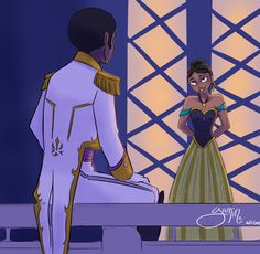 Gender- & Race-bent Disney   Disney's (Intersectional) Feminist Diadem Disney Dream, Disney Love, Disney Magic, Disney Frozen, Disney Pixar, Black Girl Art, Black Art, Anna Coronation Dress, Frozen Love