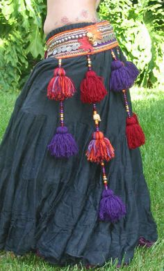 autumn gothic tassel belt! - tribe.net
