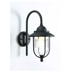 Fishermans Outdoor Lantern - Black - 27cm at Homebase -- Be inspired and make your house a home. Buy now.