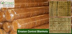 Coir erosion control blankets, also known as coconut blankets or coir blankets, are used extensively for slope stabilization, landslide stabilization and river-bank protection. They are easily transported and deployed; they can be secured to the ground, eventually becoming part of the soil structure.