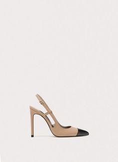 Uterqüe España Product Page - Calzado - Zapatos tacón - Destalonado puntera - 89