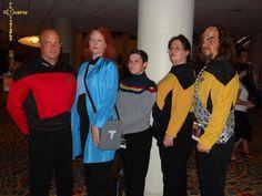 Bestine FanForce - Star Trek TNG - DragonCon 2012