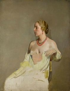 Jane by Sir Gerald Festus Kelly on Curiator, the world's biggest collaborative art collection. Female Portrait, Portrait Art, Female Art, Portrait Paintings, Portraits, Edward Hopper, Art Deco, Collaborative Art, Art For Art Sake