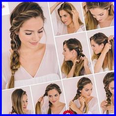 Tuto tresse cheveux - Tutoriel photo #- #Tutoriel #photo hairstyles for medium length hair easy 33+ | hairstyles for medium length hair easy | 2020
