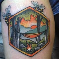 Simple Camping Tattoos - Bing images …