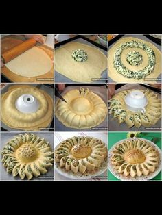 Savory Spinach Pie Recipe If a delicious dish is something you wish, choose a savory meal with spinach! A nice blend of dessert with a nutritious meal, the spinach pie is perfect. Yummy Recipes, Pie Recipes, Appetizer Recipes, Cooking Recipes, Spinach Appetizers, Picnic Recipes, Sunny Spinach Pie Recipe, Good Food, Yummy Food