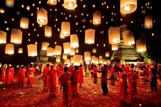 Thailand and lanterns - Entry in Sony Photography Awards 2012