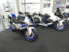 BMW HP Motorcycles at our shop