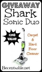 Giveaway: Shark Sonic Duo Cleaner ($248 Value)Been following you for a few years now.  Thanks for all you do!