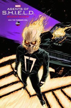 'Agents of S.H.I.E.L.D.' Poster - Francesco Francavilla