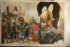 La guerre des Gaules: Camp Romain