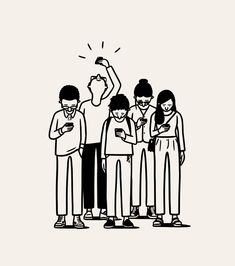 Hipster Drawings, Minimal Drawings, Business Illustration, Graphic Illustration, Matt Blease, Character Illustration, Cute Stickers, Cute Art, Vector Art