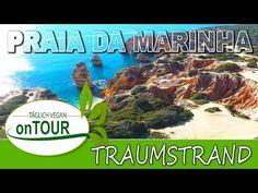Traumstrand in Portugal | Praia da Marinha | Drohne | DJI Phantom 4 | Paradies Portugal, Dji Phantom 4, Strand, Vegan, Navy, The Beach, Perspective Photography, Paradise