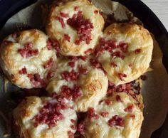 Rezept Käse-Schinken-Brötchen von marryan - Rezept der Kategorie Brot & Brötchen