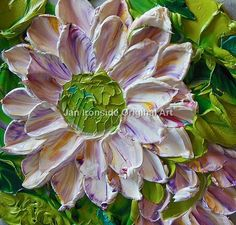 Oil Painting  Multi color floral  Impasto  by IronsideImpastos