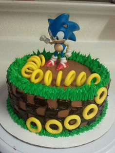 "Pastel de ""Sonic the Hedgehog"""