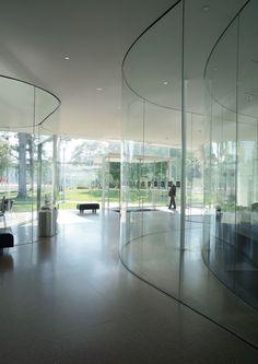 Glass Pavilion At The Toledo Museum Of Art Sanaa