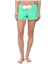 THE NORTH FACE THE NORTH FACE - PACIFIC CREEK BOARDSHORT (SURREAL GREEN) WOMEN'S SWIMWEAR. #thenorthface #cloth #