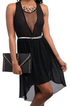 Sultry Black Dress