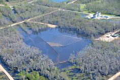 Massive Louisiana sinkhole caused by oil industry just keeps on growing