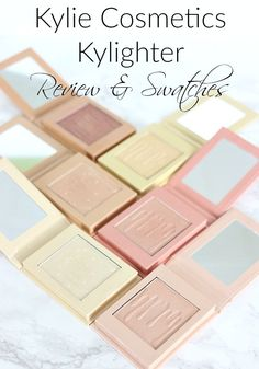Kylie Cosmetics Kylighter Review & Swatches
