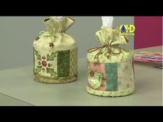 Vida com Arte | Porta papel higiênico por Elizandra Sobral - 24 de Junho de 2015 - YouTube