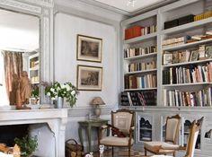 Bibliotheque salon classiqu