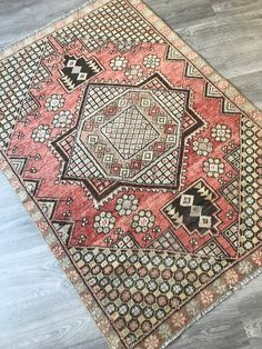 Your place to buy and sell all things handmade Hallway Rug, Large Rugs, Floor Rugs, Cross Stitch Patterns, Bohemian Rug, Embroidery, Pile, Handmade, Vintage