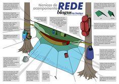 Técnicas de Acampamento em Rede - MaCamp - Guia Camping e Campismo