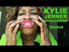 YOU HAVE TO WATCH THIS THIS IS SO FUNNY!!!!!!!!!!!!!!!!! Kylie Jenner Challenge - GloZell - YouTube