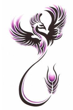 tatuaggio la fenice stilizzate - Cerca con Google