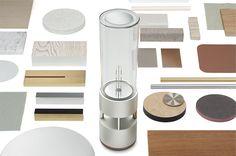 素材や仕上げも、テーブルに置かれた時に自然に見える Glass Sound Speaker
