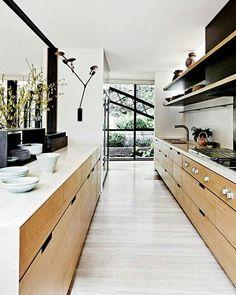 WEBSTA @ arqteturas - Cozinha e madeira clara ❤ #blogarqteturas #decoracao #blogsdecor #kitchen #cozinha #blogsdecor #decorblog
