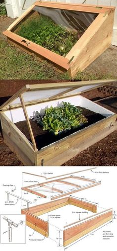 42 BEST tutorials on how to build amazing DIY greenhouses simple cold frames and cost-effective hoop house even when you have a small budget and little carpentry skills Everyone can have a productive winter garden and year round harvest A Piece Of Rainbow Build A Greenhouse, Greenhouse Gardening, Greenhouse Ideas, Greenhouse Wedding, Cheap Greenhouse, Porch Greenhouse, Homemade Greenhouse, Diy Small Greenhouse, Portable Greenhouse