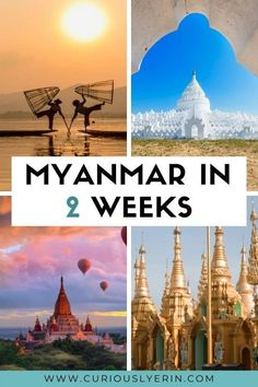 Planning a trip to Myanmar? Discover the perfect 2-week itinerary for Myanmar. In this guide, you'll find the top things to do in Mandalay, Bagan, Yangon, Inle Lake, Hpa An and more. Make sure you add these destinations to your Myanmar itinerary and bucket list. This detailed itinerary includes things to do in Myanmar, where to stay, how to get between destinations and top tips. This itinerary is also suited for solo travellers and budget travellers. #Myanmartravel…