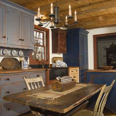 Page 31 More Prim Kitchen Saltbox House Traditional Kitchen Country
