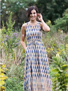 etikbutik  šaty  maxišaty  krásný vzor