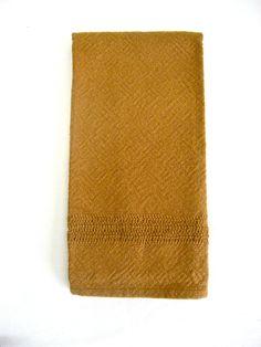 Handwoven dishtowel 100% organic cotton with leno lace detail