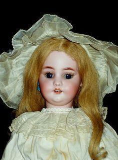 "19""  Roullet & Decamp Mechanical Bebe ~ S&H 1039 offered on Ruby Lane's Faraway Antique Shop. #Bebe"
