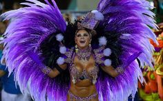 Rio Carnival 2015 A reveller from the Uniao da Ilha samba school by CHRISTOPHE SIMON/AFP/Getty Images