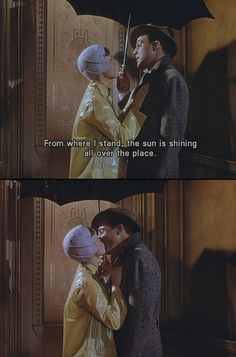 Singin'in the rain...this movie is AMAZING. One of my absolute favorites!