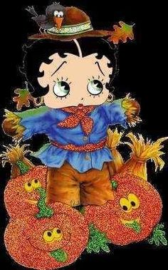 if I only had a brain! Betty Boop Halloween, Halloween Scarecrow, Halloween Images, Happy Halloween, Halloween Ideas, Boop Gif, Betty Boop Cartoon, Classic Cartoon Characters, Betty Boop Pictures