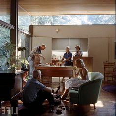 1000 images about architect ulrich franzen on pinterest for A w beattie dining room