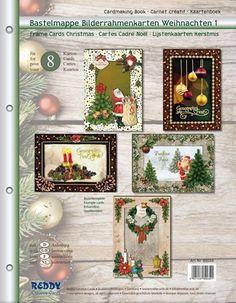 BASTELSETS / Craft Collection / CRAFT KITS: Staf Wesenbeek, Willem Haenraets en viele anderen. Bastelmappe zur Gestaltung von 8 edele Weihnachtskarten