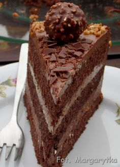 Kulinarne Szaleństwa Margarytki: Tort czekoladowy z orzechową nutką Vegan Junk Food, Vegan Sushi, Vegan Baby, Vegan Smoothies, Vegan Kitchen, Asian Cooking, Vegan Sweets, Love Food, Cookie Recipes