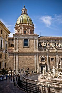 Piazza Pretoria - Palermo, Sicily, ITALY.   (by © Ruggero Poggianella)
