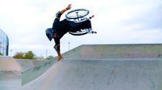 Aaron 'Wheelz' Fotheringham Talks About Hitting Skateparks and Doing Insane Wheelchair Tricks
