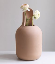 "Jaime Hayon ""Gardenias"" Terracota Vase, BD Barcelona Design edition"