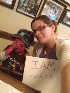 We're raising awareness all month long for IAM! DeDe & Evan are hopeful!