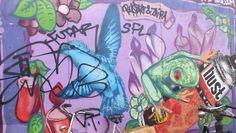 buntes Grafitti, Ammsterdam - Foto: S. Hopp